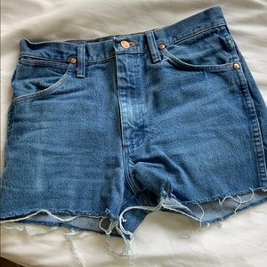 Vintage Wrangler Denim Shorts